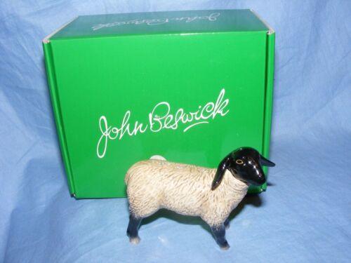 John Beswick Sheep Suffolk Lamb Farmyard JBF80 Figurine Present Gift NEW