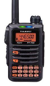 Yaesu-FT-70DR-C4FM-FDMA-FM-DUAL-BAND-Handheld-Transceiver-Mars-Cap-Modified
