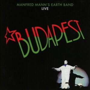 MANFRED-MANN-039-S-EARTH-BAND-BUDAPEST-LIVE-CD-NEU