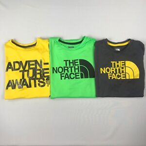 379f00a42 Details about Boy's Youth The North Face Graphic Polyester T-shirt