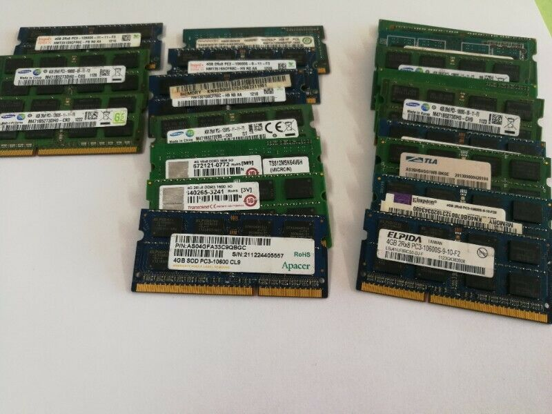 4gb DDR3 Laptop RAMs
