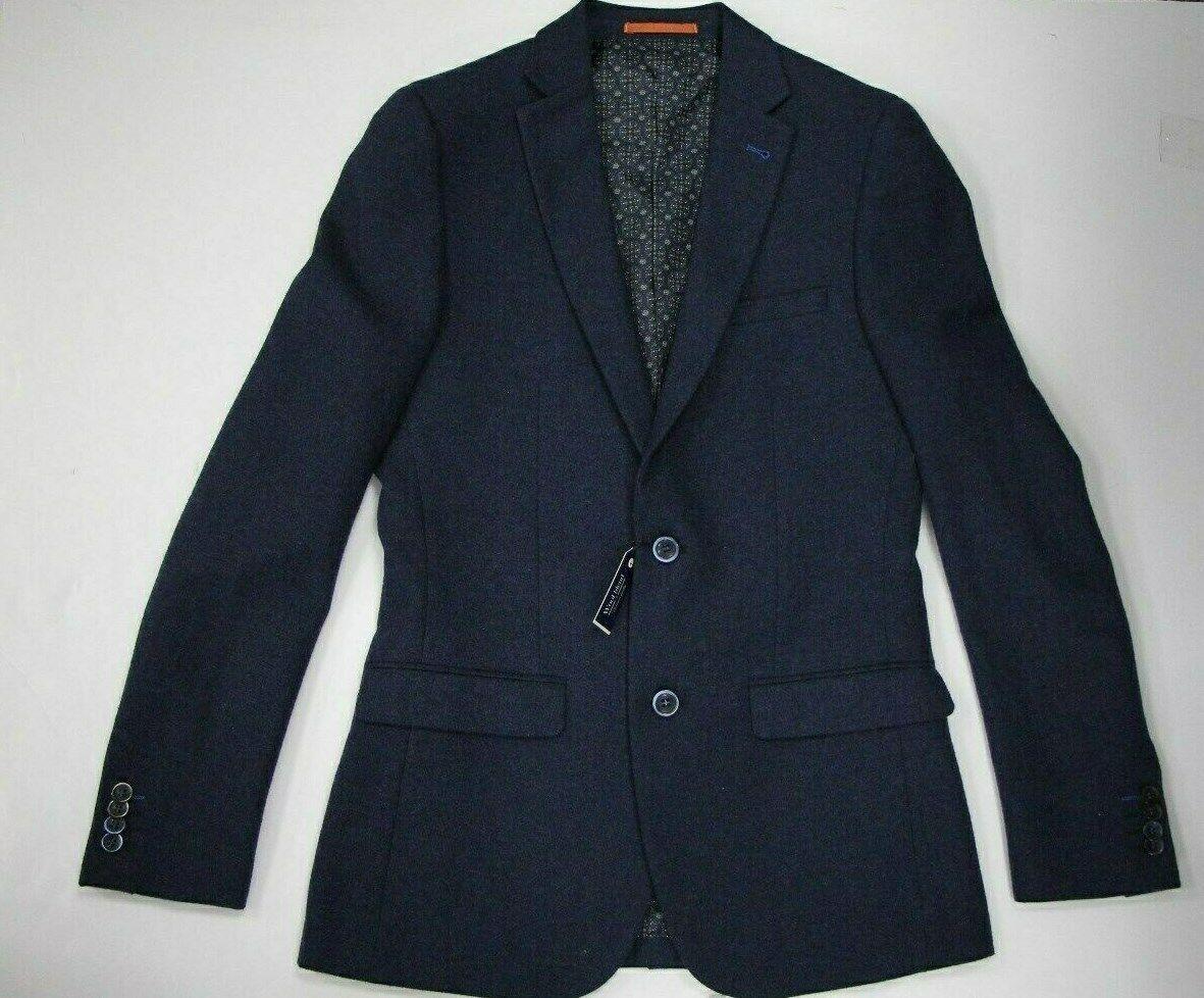 Men's Harry Brown Skinny Fit bluee Blazer (36L)..Sample 4175