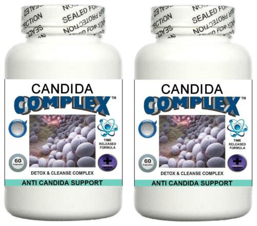 Candida 2 Cleanse Thrush Digestion Gut Detox Imbalance Pill Yeast Fungus Healthy Bddfqw