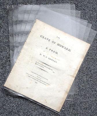Paper Archivierung Polyester Dokument Ärmel 220mm X 315mm a4 Schnelle WäRmeableitung 10er Pack