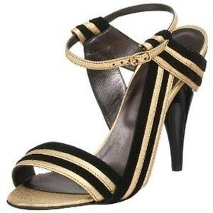3b7569bdef391 Details about New Georgina Goodman Womens Fernanda Sandal Shoes Size 8 US  38 European