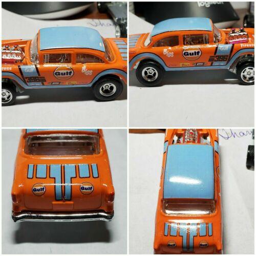 1//64 /'55 Chevy /'Gulf/' Gasser CUSTOM Decal SCR-0316
