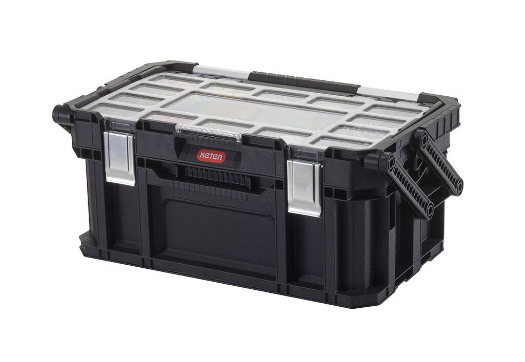 KETER Smart Connect Cantilever 22  Boîte à outils en porte-à-faux Caisse