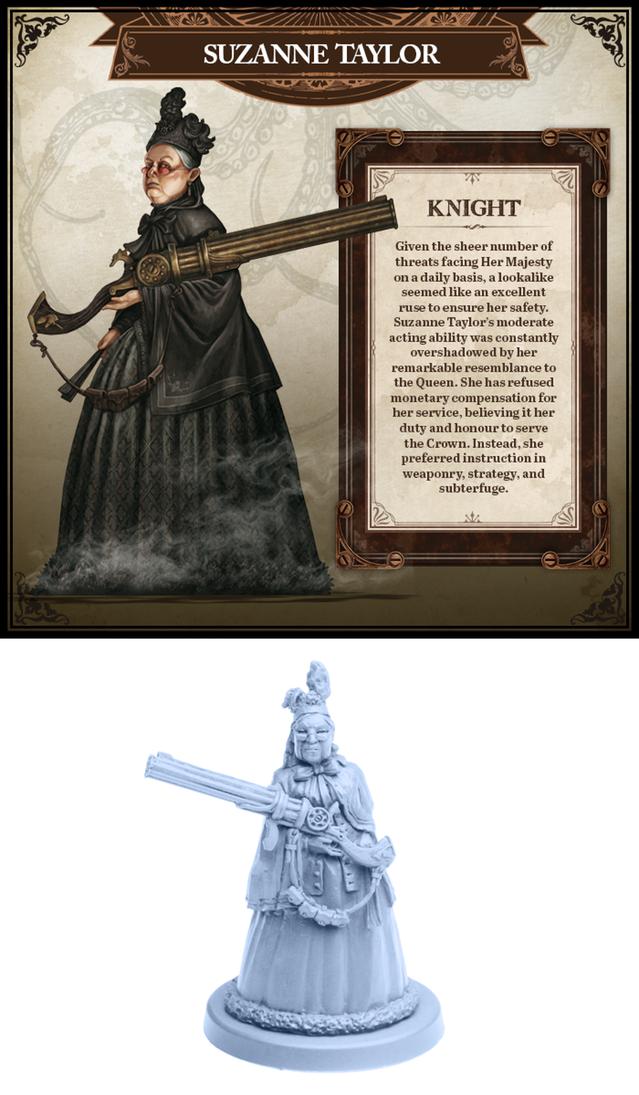 World of Smog Rise of Moloch - Gentlemen of her Majesties Service - in hand
