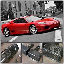 Ferrari 360 F360 Modena Coupe Spider 99-04 Carbon Fiber Air Intake Box Boxes