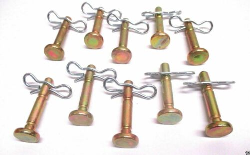 10 MTD 738-04124A /& 714-04040 Shear Pin /& Cotter Pin For Cub Cadet Troy Bilt OEM