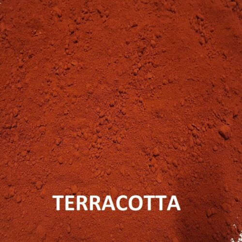 10 kg Terracotta Dye//Pigment for Concrete Render Mortar /& Cement