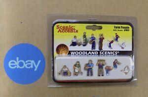 Woodland-Scenic-Figurines-Animals-Vehicles-Select-One-NIP