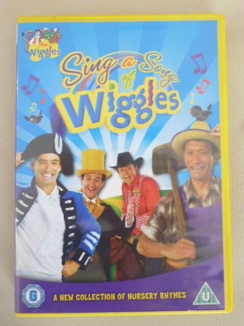 THE WIGGLES Sing A Song of Wiggles  DVD R2