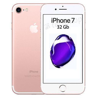 Apple • iPhone Sette • 32Gb Rose Gold • GARANZIA 2 ANNI • Oro Rosa 4G LTE NUOVO