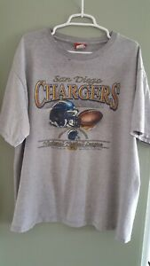 San-Diego-Chargers-Vintage-T-Shirt-80s-or-90s-NFL-Football-American-Football-XL