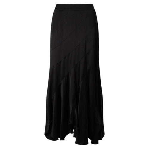 Various Sizes Black Brand New East Cutabout Satin Skirt