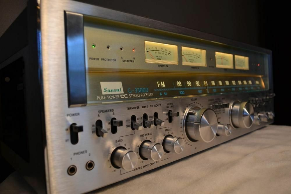 Sansui G-33000 on eBay.