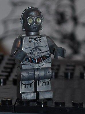 SW4 Star Wars C-3PO Red Prototype C3PO non-polybag figure US Seller