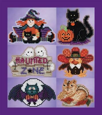 CHOOSE ONE MILL HILL WINTER HOLIDAY BEADED CROSS STITCH KITS