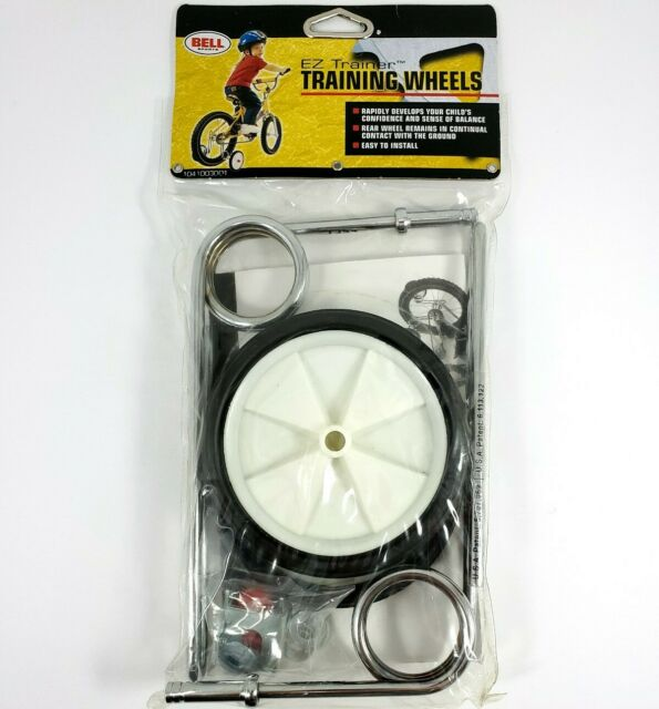 Bell E Z Trainer Training Wheels White Black Fits Bikes 12 To 24 Shippin For Sale Online Ebay
