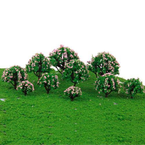 20 Stück Modell Baum Modellbaum für Modellbau Modelleisenbahn