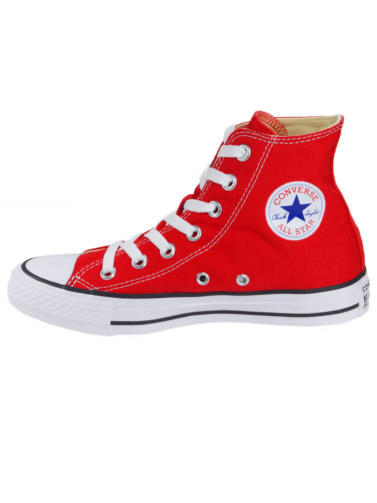 Converse Femmes Chaussures Chuck CT All Star Hi Rouge Lin paniers 36