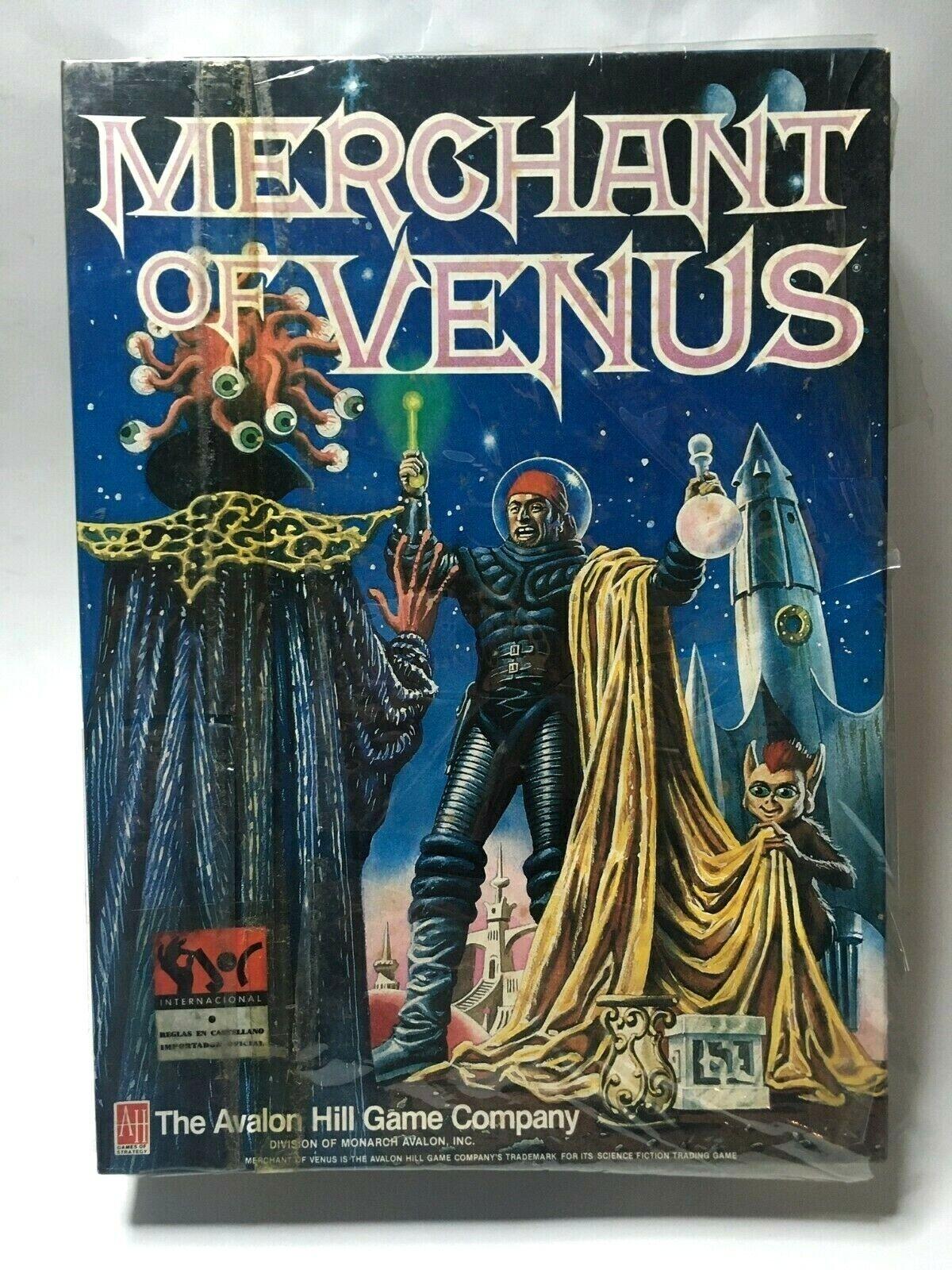 MERCHANT OF VENUS - AVALON HILL  NEW SEALED