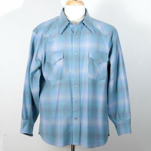 Pendleton Vintage High Grade Western Wear Pearl Sn