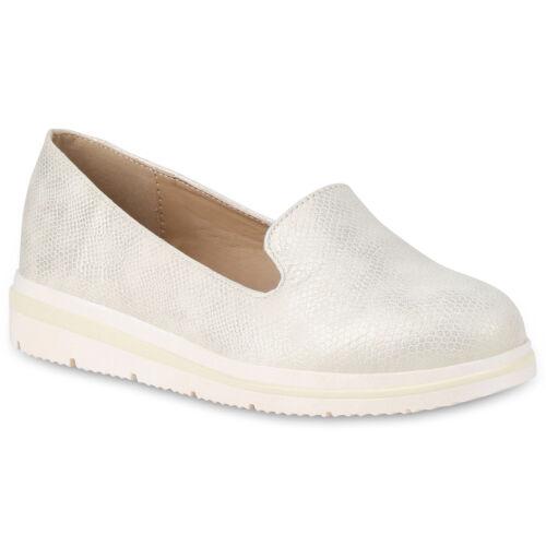 Damen Slippers Keilslippers Keilabsatz Slip On Schuhe Metallic 896699 Hot