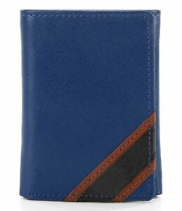 965916cb3acd Details about NIB ROUNDTREE & YORKE MEN'S LEATHER RFID SHIELD ID trifold  WALLET