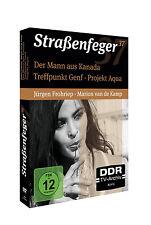 4 DVDs * STRAßENFEGER 37 - TREFFPUNKT GENF/DER MANN AUS KANADA/AQUA # NEU OVP^