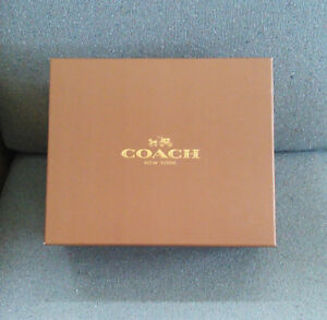 COACH-Gift-Shoe-Box-12-034-X10-034-x4-5-034-with-tissue-and-care-booklet