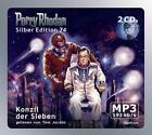 Perry Rhodan, Silber Edition - Konzil der Sieben, 2 MP3-CDs von William Voltz und Ernst Vlcek (2010)