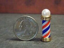 Brass Barber/'s Pole Dollhouse Miniature