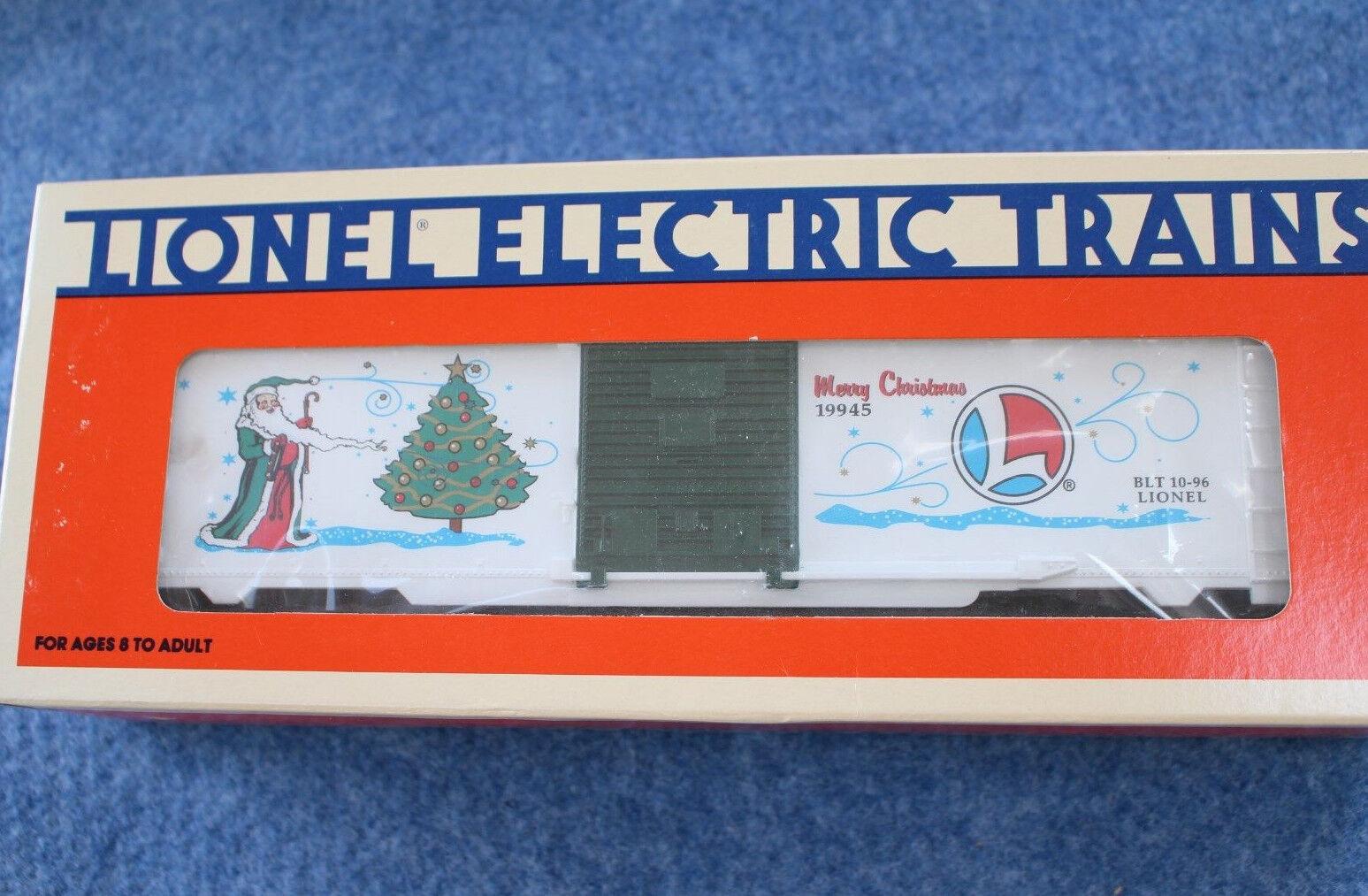 ventas calientes 1996 Lionel 6-19945 Feliz Navidad Vacaciones Coche De Caja Caja Caja L2680  tienda en linea