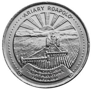 MADAGASCAR-20-Ariary-1978-Nickel-UNC-F-A-O
