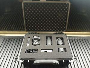 """16""""1/2 New Black Weatherproof Equipment Case (Pelican 1500 Equivalent)"""