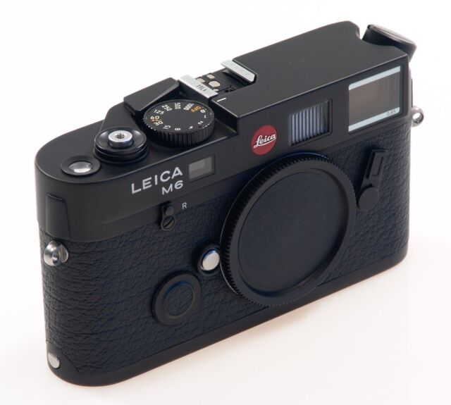 Brand New Unused Leica M6 TTL Rangefinder Film Camera Black 0.85 x 10436