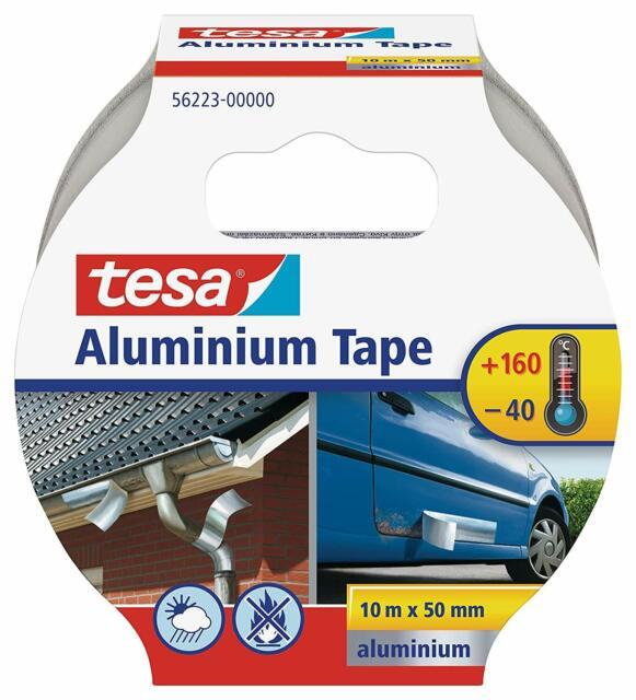 Tesa Aluminium self-Adhesive 10 m x 50 mm,tape, protecting, covering, insulating