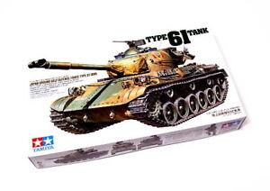 Tamiya-Military-Model-1-35-JGSDF-Type-61-Tank-Scale-Hobby-35163
