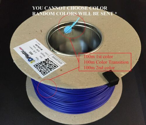 3DPlastX 1.75mm.//300m Many colors! made in EU 3D Printer ABS filament RepRap