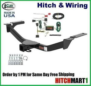 details about class 3 curt trailer hitch & wiring for 2007-2010 ford edge  13067