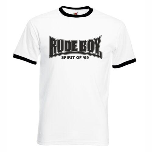 Rude Boy T-Shirt rudeboy Spirit of 69 Oi Ska Punk Skinhead S-XXL