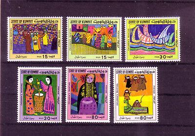 Begeistert Kuwait Michelnummer 750-755 Postfrisch Übersee:10221 Kuwait