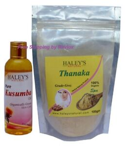 Haley S Thanaka Powder Kusumba Oil Grade Groz For Hair Removal