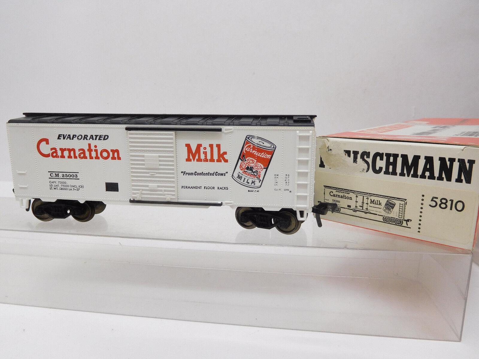 Mes-52582 Fleischmann 5810 h0 US carri merci Carnation Milk,