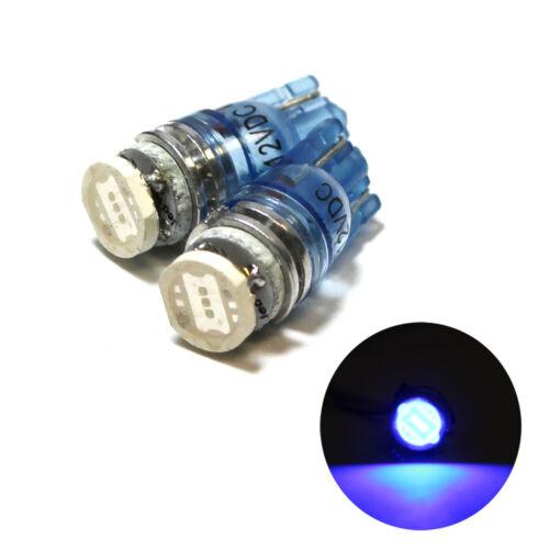 Blue LED Slim Superlux Side Park Light Bulbs /'HID/' Xenon Upgrade Lamps