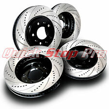 FOR018S Focus ST 320mm 12-17 Performance Brake Rotor Set Cross Drill Curve Slots