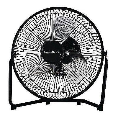 Homebasix Vf 9n Fan High Velocity 9 Black