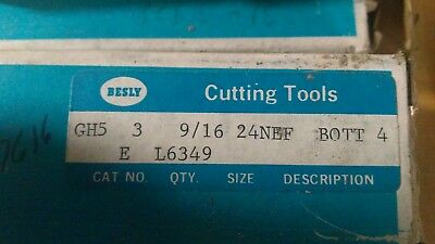 "TTC 11//16/""-24 NEF HSS RH Special Thread Bottoming Tap"